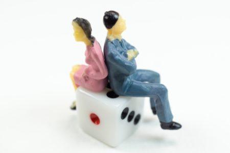 ギャンブルの借金で離婚